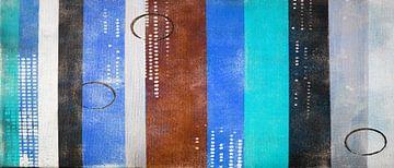 Herbst Blau von Kathleen Artist Fine Art