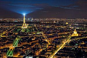 Lichtstad Parijs - Eiffeltoren - vanaf Tour Montparnasse