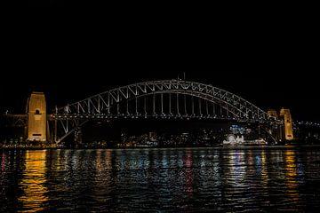 Die Hafenbrücke von Sydney von Ivo de Rooij