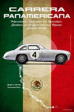 Carrera Panamericana Vintage MB von Theodor Decker