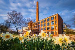 oude fabriek in Chemnitz van Daniela Beyer