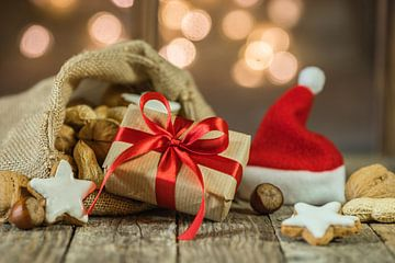 Advent en Kerstmis geschenk en Kerstman zak van Alex Winter