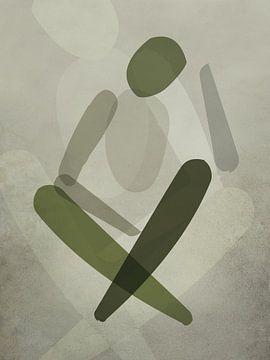 Minimale Körperkunst von Color Square