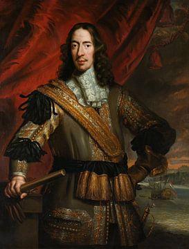 Porträt von Cornelis de Witt, Jan de Baen