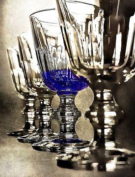 Stilleven glas van Borgo San Bernardo