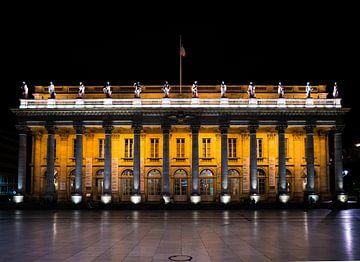 De opera van Bordeaux in het donker van Ivo de Rooij