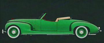 ZIS 101-A Sport 1939 Eingezogenes Dach von Jan Keteleer