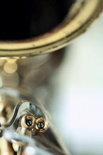 Careless whisper... (muziek, muziekinstrument, saxofoon) van Bob Daalder