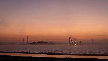 Bomhofsplas voor zonsopgang sur Erik Veldkamp