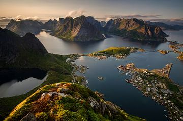 Reinefjorden view van Wojciech Kruczynski