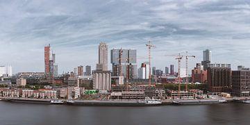 Blick vom Maassilo, Rotterdam von Joey van Embden