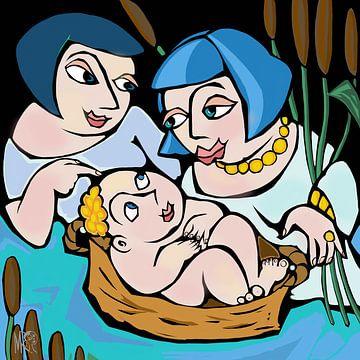 Moses gefunden von Marina Rosemann