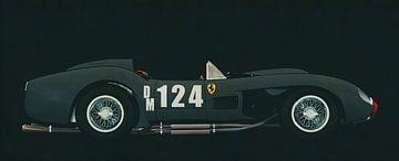 Ferrari F250 Testarossa 1957 zijaanzicht