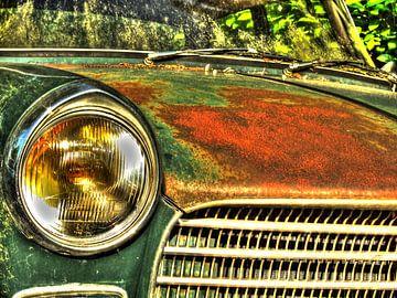 Peugeot 404 van Tineke Visscher