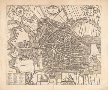 Karte von Haarlem von 1771
