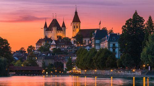 Thun Castle, Switzerland van