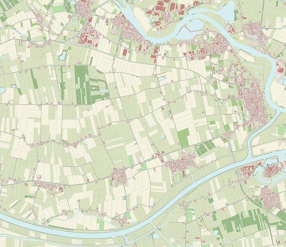 Kaart vanAalburg