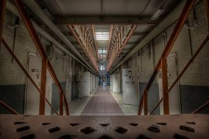 De gevangenistrap (Urbex) van Eus Driessen