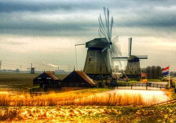 schermer windmolens van Iwan Goulooze