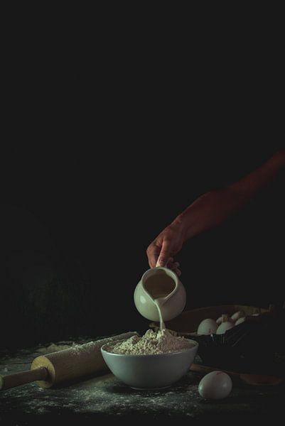 Stilleven  cake maken van zippora wiese