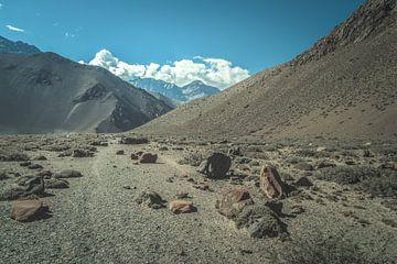 Himalaya-aanzicht van Edgar Bonnet-behar