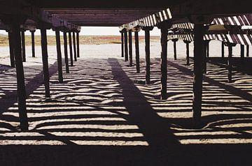 striped beach  von Sagolik Photography