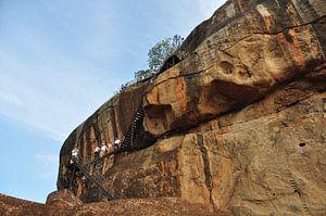 de ''rots'' Sigiriya van