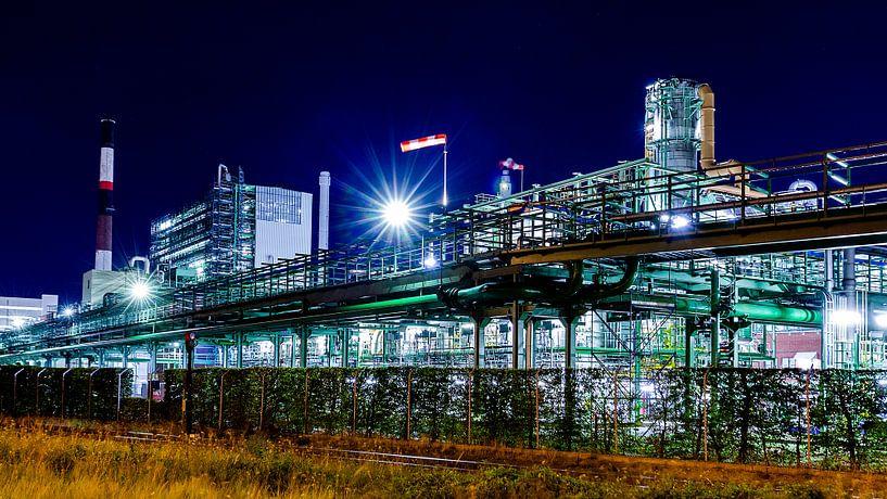 Petrochemie havens Antwerpen 3 van Wilma Wijnen