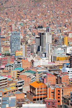 La Paz (Bolivia) van Lucas De Jong