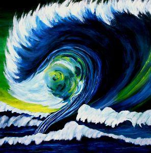 Grosse Welle von