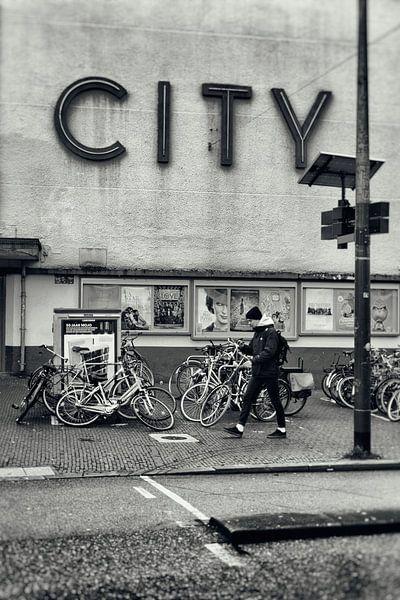 Detail City bioscoop in Utrecht. von De Utrechtse Grachten