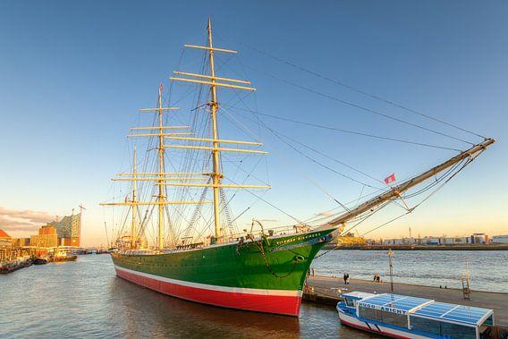 Sailing ship Rickmer Rickmers