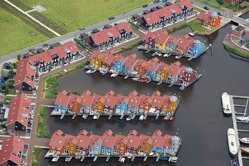 Reitdiephaven in Groningen van John Ploeg