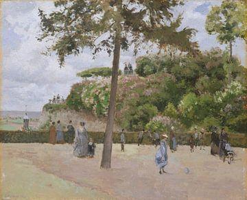 Le jardin public à Pontoise, Camille Pissarro sur