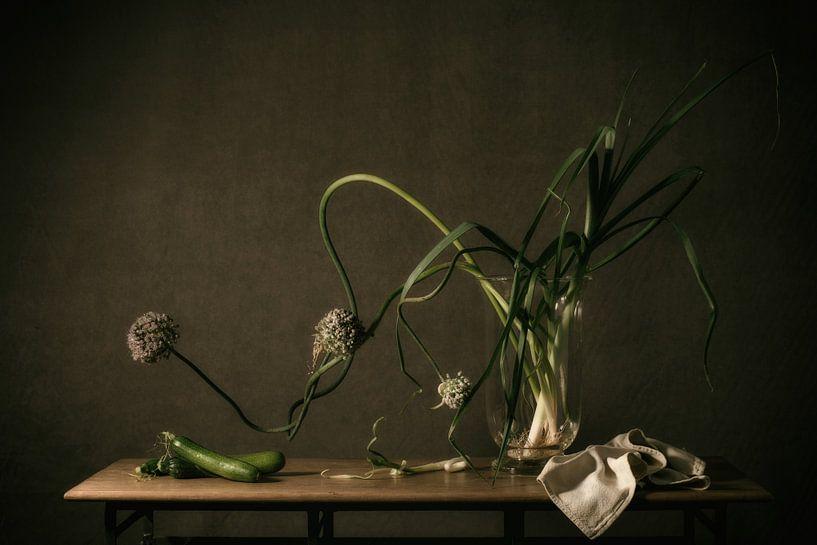 Stillleben Gemüse von Monique van Velzen
