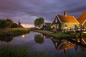 Zaans huisje in Zaanse Schans