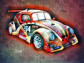 VW Fun Cup 264 van JiPé digital artwork