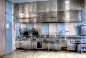HDR keuken in een sanatorium