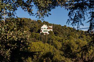 Huis tegen de bergwand