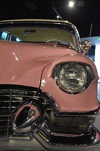 Pink Cadillac van