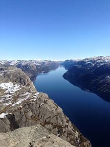 Lyse Fjord Noorwegen