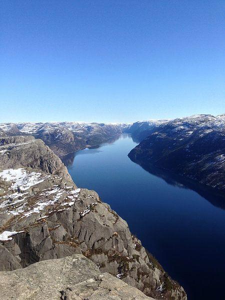 Lyse Fjord Noorwegen van SuperB Design