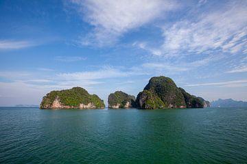 Paysages du Parc National de Phang Nga en Thaïlande sur Tjeerd Kruse