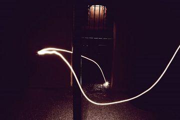 Lichtstraal in de kerker van Thijs GROENHUIS