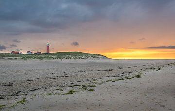 De verlaten stranden van Texel van