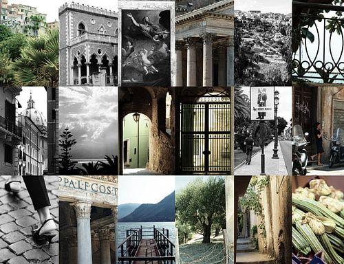Collage Italië van