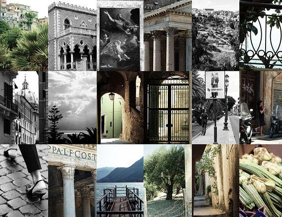 Collage Italië van Wendy Bos