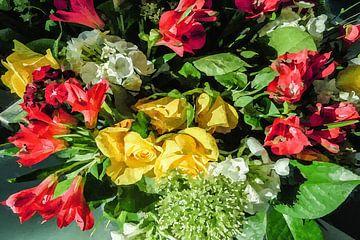 Digi gemalt Blumen 02 von Hans Levendig (lev&dig fotografie)