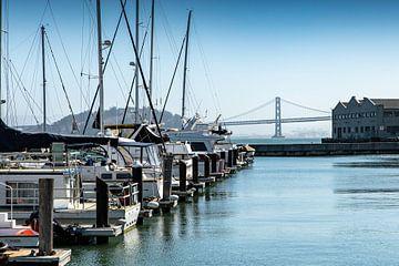 San Francisco Marina von Martijn Bravenboer