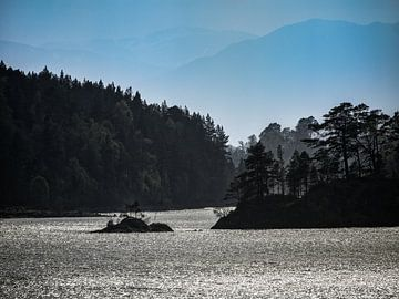 Glen Affric, Loch Beinn a' Mheadhoin von Pascal Raymond Dorland